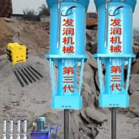 贵重石材静态开采新设备液压分裂机