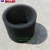 圆筒状网孔泡棉