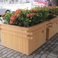 河南塑木花箱,河南定制塑木花箱,河南塑木花箱厂家