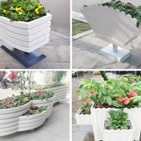 河南PVC塑木花箱,河南户外PVC种植花箱,河南塑木花箱