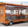 选质量好的移动仿古小吃车,就到欧准新能源,电动餐车