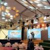 婚庆篷房搭建多少钱|有保障的上海篷房租赁就在邦夏装配式篷房