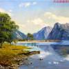 朝鲜油画_风格丰富的艺术作品|朝鲜风景油画价格