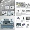 裁纱机公司-德圣威工业设备有限公司专业供应触摸屏双液压双导轨裁纱机
