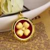 金箔饰品挂件_温州质量过硬的金箔四叶草吊坠
