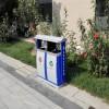 西安不锈钢垃圾桶定制-选购专业的西安塑木地板就选志诚塑木