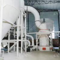 灵寿辉绿岩加工厂磨粉设备HC1700纵摆式雷蒙磨