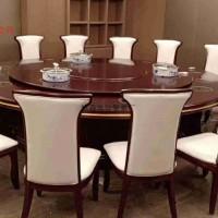 电动转盘餐桌 供应 家用餐桌 雕花电动桌 实木电动餐桌