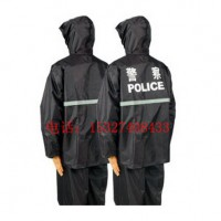 警察雨衣,警察分体式雨衣,警察防雨服