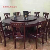 厂家定制自销 酒店大圆桌 自动转盘餐桌 电动餐桌 电动火锅桌