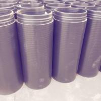 厂家直销广东广西PE挤压式柔软性承插口复合实壁管
