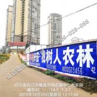 四川阿坝农村广告阿坝牛栏山墙壁广告乐山企业文化标语