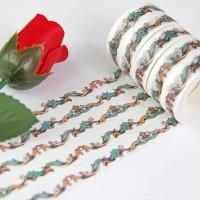来图定制欧式花边简约风格和纸胶带