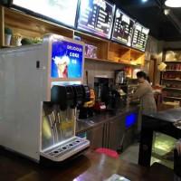 天津汉堡店可乐机供应3阀可乐机活动价4852