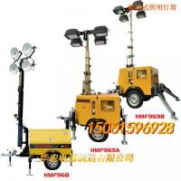华宏生产和销售气动伸缩杆 移动式照明车灯