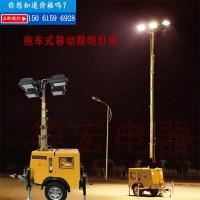 用于公路夜间施工的应急可移动可升降的照明车