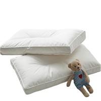家巡纯白色抗菌防螨枕头
