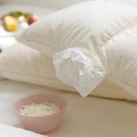 家巡乳胶颗粒护颈枕头