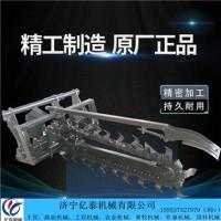 亿泰机械电缆光缆地下埋管线链条式开沟机