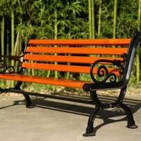 公园椅 广场休闲座椅 靠背花脚椅 厂家定制直销