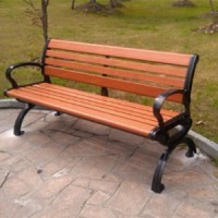 供应室外公园靠背休闲椅