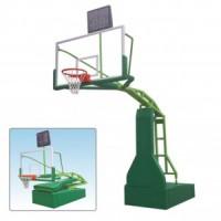 银川室内外电动液压篮球架