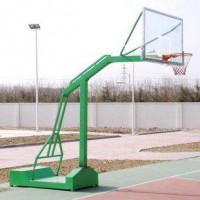银川室外标准凹箱篮球架