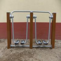 银川室外广场塑木健身器材