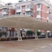 十堰停车场膜结构 汉泰张拉膜加工 十堰停车场充电桩膜结构维修