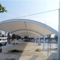 襄阳膜结构停车场 汉泰张拉膜加工 襄阳膜结构停车场充电桩维修