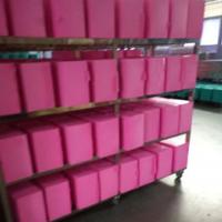 亲水性非乳胶粉扑片材平面化妆绵材料气垫粉扑片材厂家