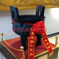 咸阳青铜器生产厂家   三足克鼎定制厂家