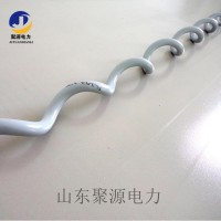 ADSS光缆防震鞭  螺旋形防震鞭