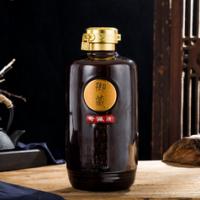 复古瓷器御藏酒瓶1斤/3斤/5斤直筒密封酒壶空酒罐一斤装摆件