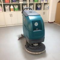电动超市专用洗地机 锂电池洗地车 吸干一体机