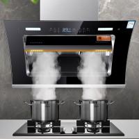 泉巴赫大吸力自动清洗一级节能静音双电机吸排油烟机