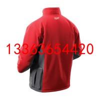 发热夹克服 M12HJ-21C充电式红色加热夹克衫 自动加热