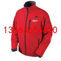 M12HJ-21C充电式红色加热夹克衫 户外自动发热外套