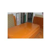 冷冲板桔红色酚醛纸层压板电机垫板电木板加工