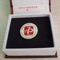 陕西周年纪念珐琅徽章磨具制作