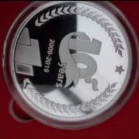 陕西庆典纯银纪念币   周年纪念纯银纪念币生产