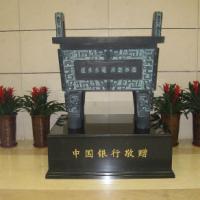 陕西青铜器生产厂家  鈡元司母戊鼎工艺品摆件销售