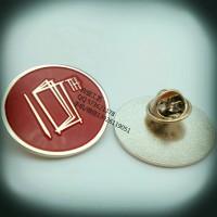 10周年公司年会纪念徽章、金属章子制作、多色襟章