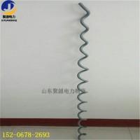 ADSS光缆防震鞭 架空光缆金具 螺旋减震器