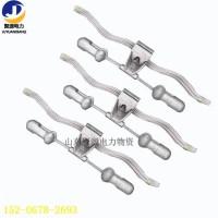 4D-20 预绞式防震锤 OPGW光缆金具防震金具