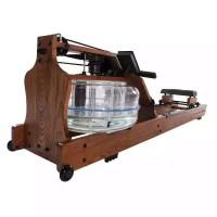 室内智能有氧划船器水族电磁控折叠划船机家用木质水阻划船机