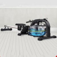 水阻划船机家用有氧智能健身仰卧起坐健身器材木质划船器