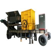 曲靖现货直供移动碎石机 破碎生产线定制厂家 型号齐全