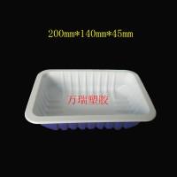 厂家直供一次性气调锁鲜盒 鸭脖鸭货酱卤食品包装盒 封口塑料盒