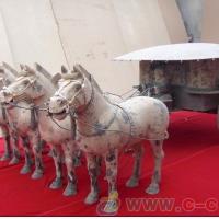 陕西青铜器生产厂家   雁塔铜车马销售